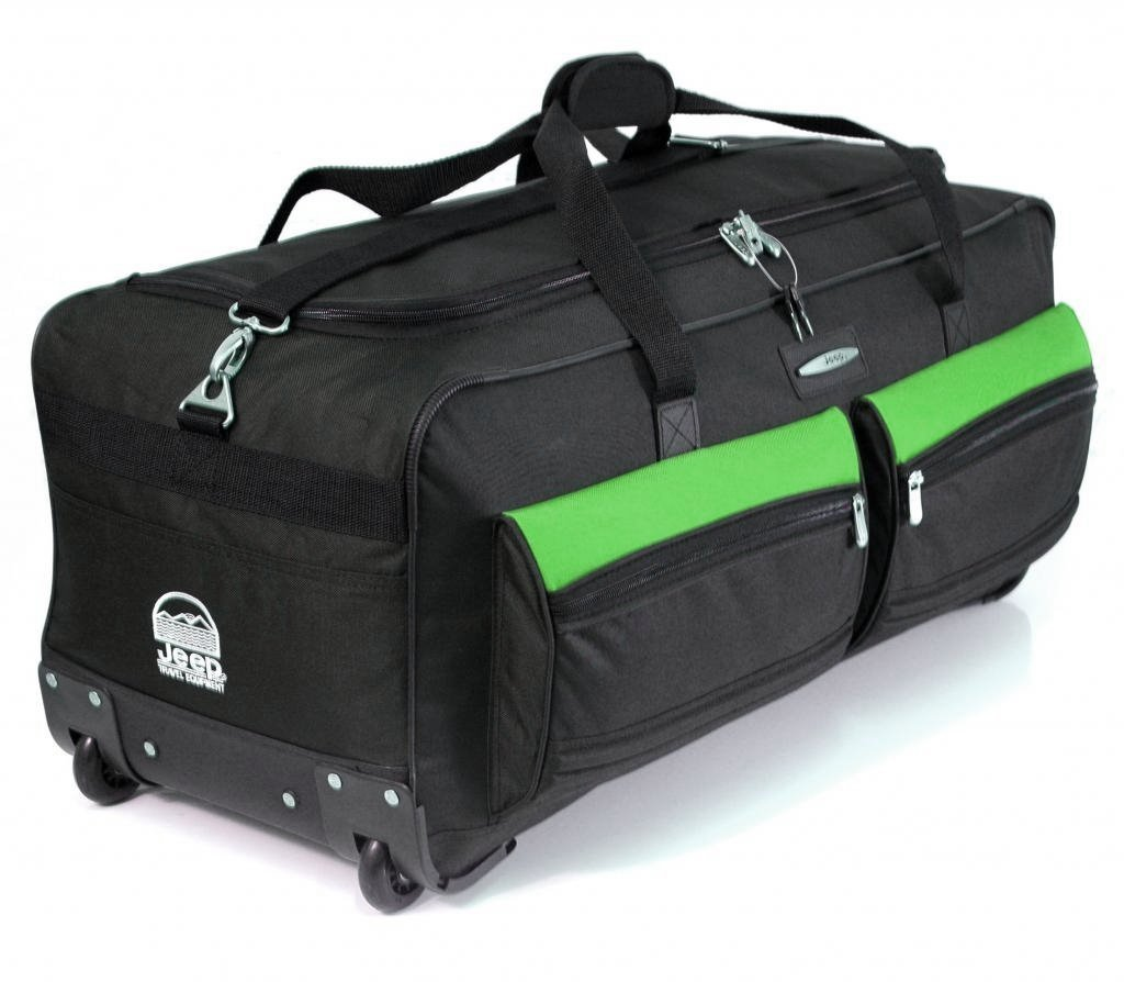 Jeep Official Large Wheeled Bag Review - Luggage News In The UK