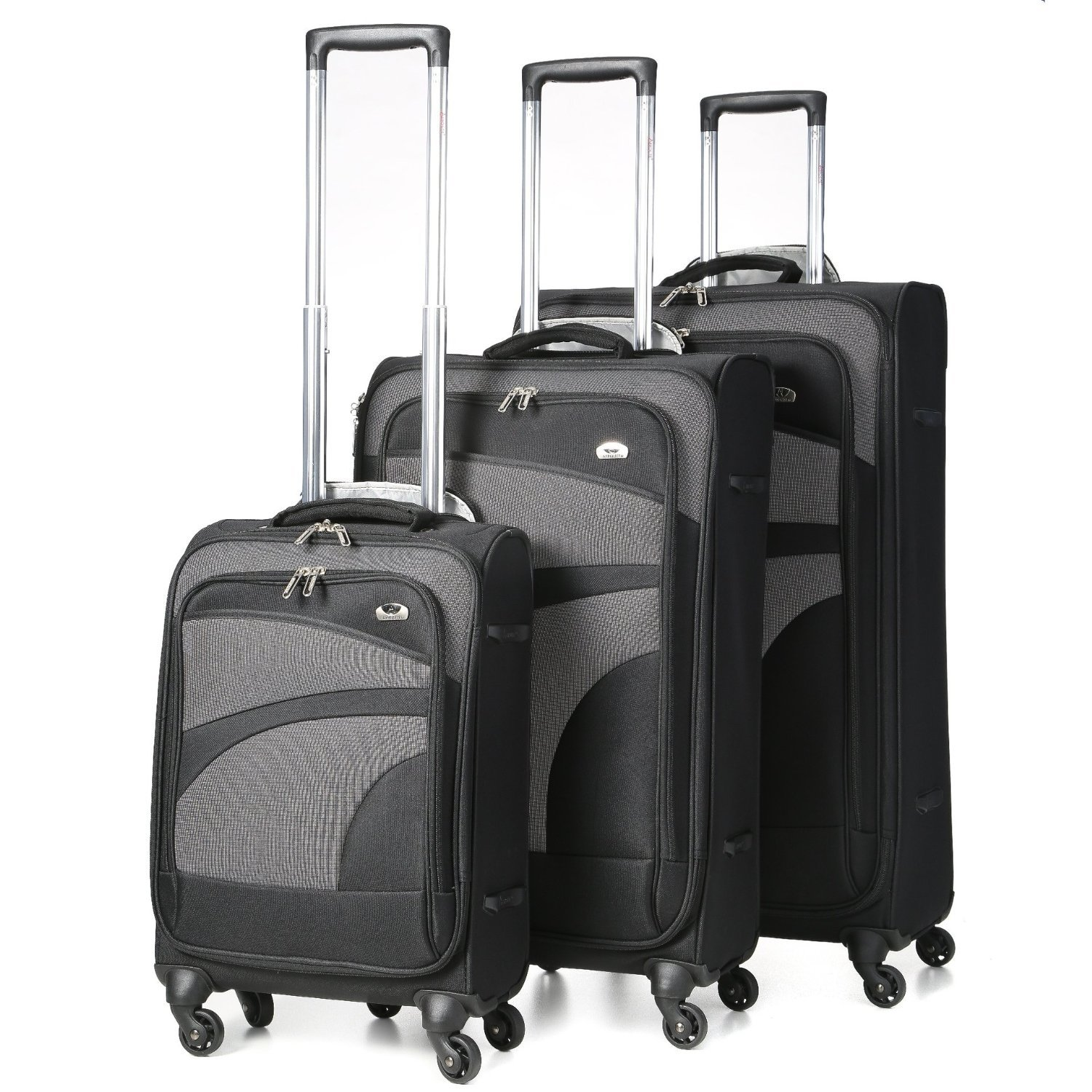 Aerolite Super Lightweight 4 Wheel Spinner Luggage Suitcase