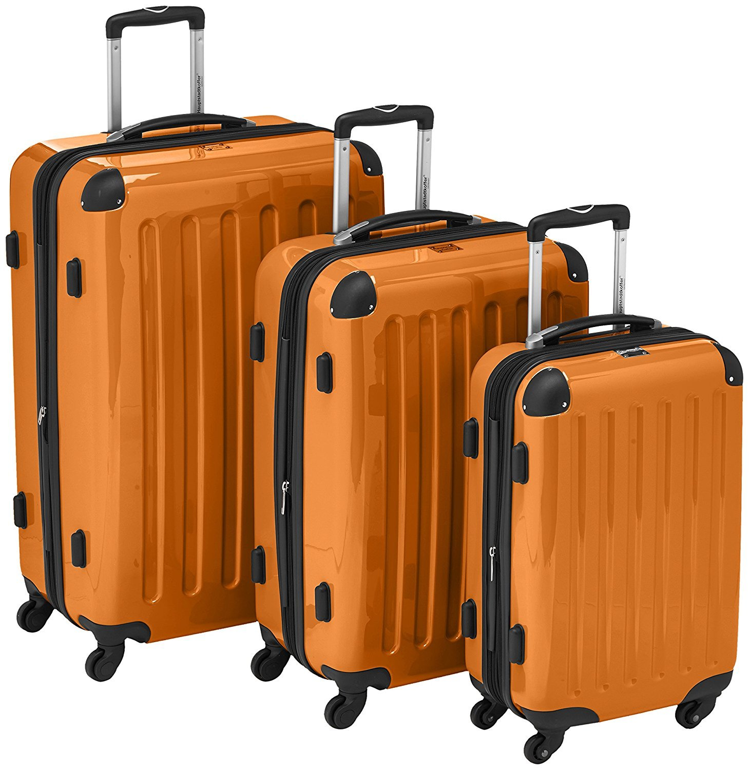 Hard side suitcase set