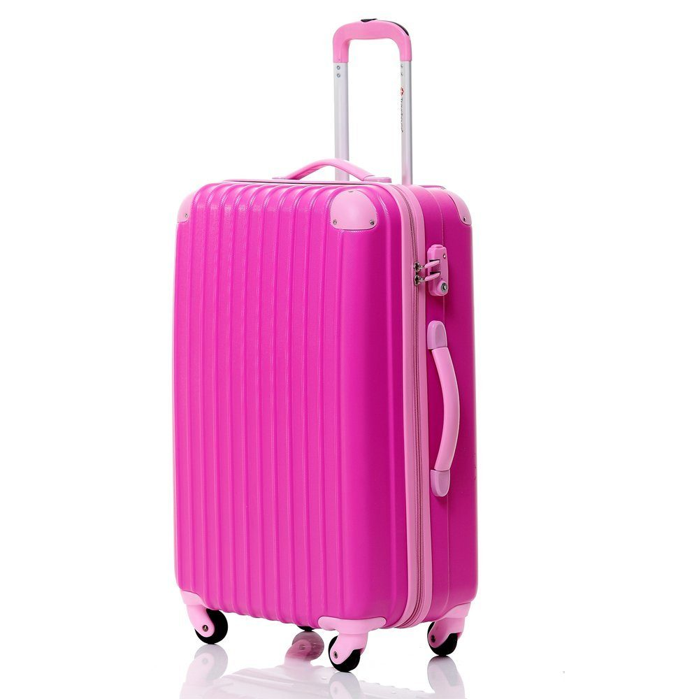 Travelhouse Hard Shell Travel Luggage Pink
