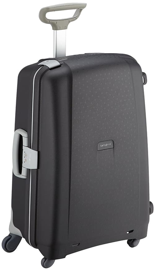 Samsonite Aeris Spinner Suitcase Black Colour