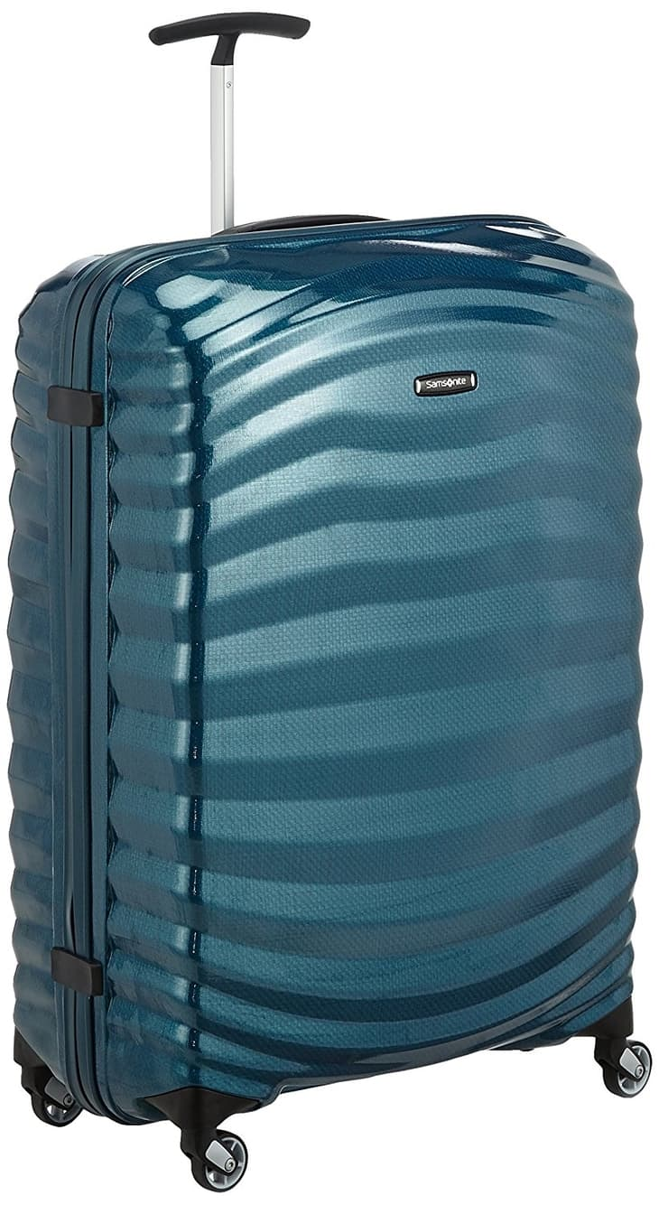Samsonite Lite-Shock Suitcase Petrol Blue