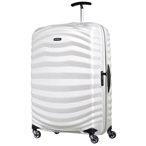 Samsonite Lite-Shock Suitcase white colour