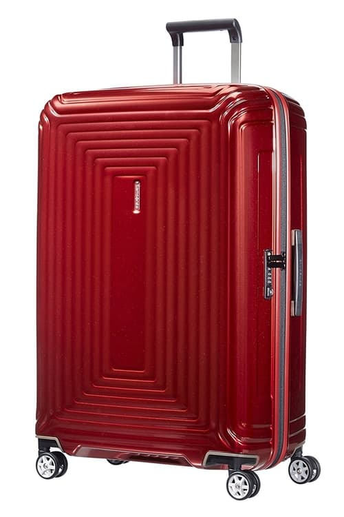 amsonite Neopluse Suitcase Metallic Red
