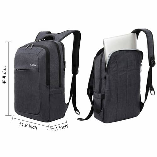 Slotra Slim Anti-theft Backpack dimensions